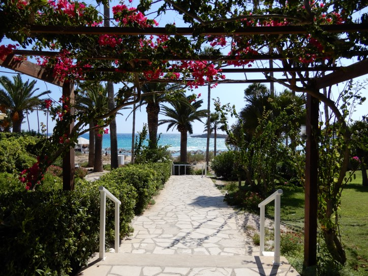 Footpath at Nissi Beach Resort