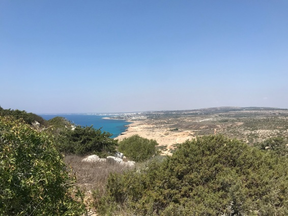 Views of the Mediterranean