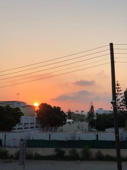 Sunrise in Nissi Beach
