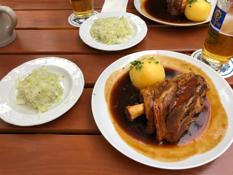 Traditional Pork Hock with Sauerkraut